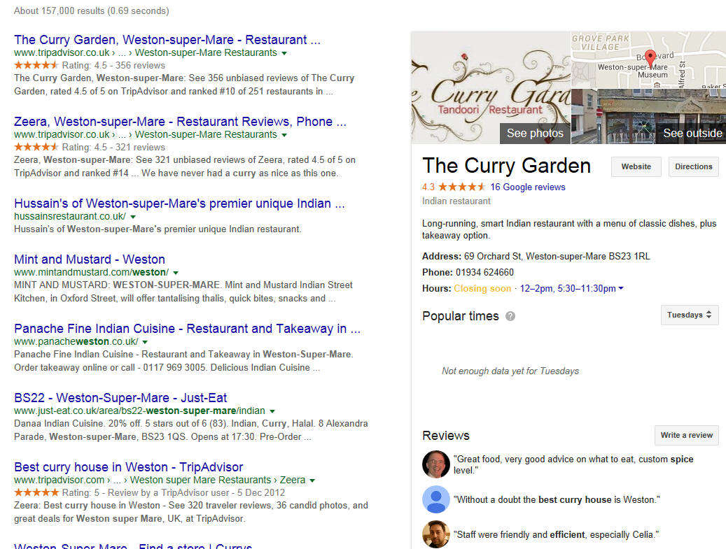 Citations and Google Reviews